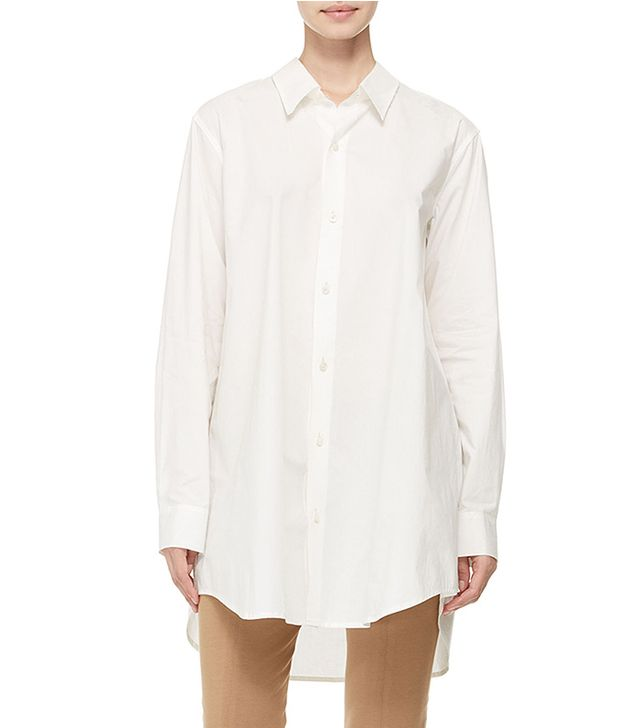 Donna Karan Oversized Button-Down Shirt