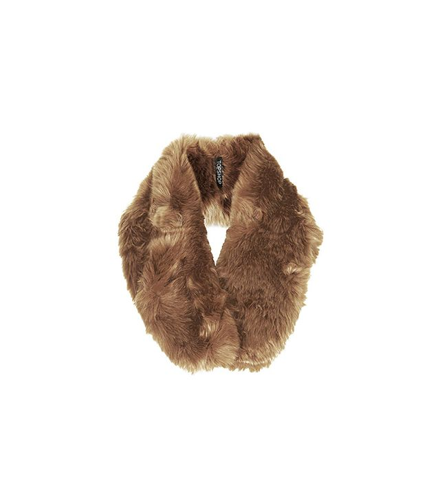 Topshop Faux Fur Hybrid Snood