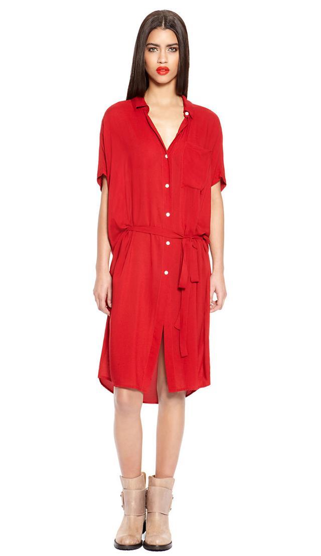 DKNYPure Self Belt Shirt Dress