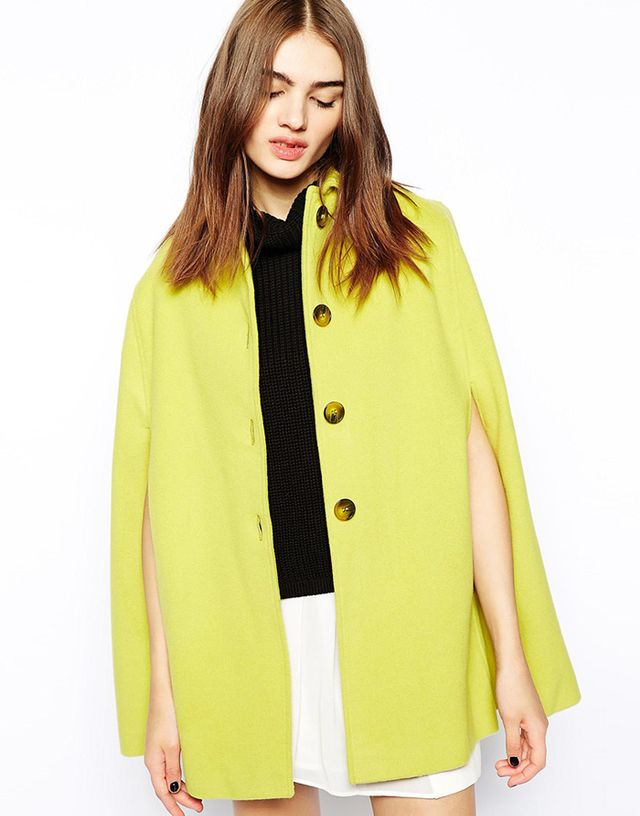 Helene Berman Cape with Collar