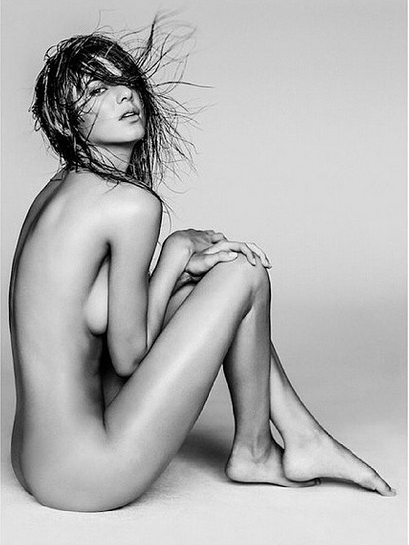 See Kendall Jenner's Nude Photo Shoot Up Close and Personal