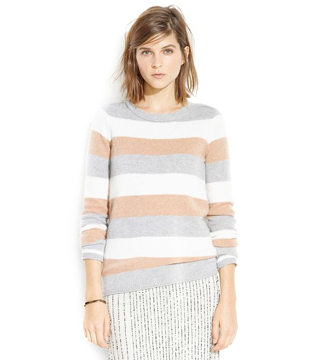 Madewell Tri-Striped Gamine Sweater