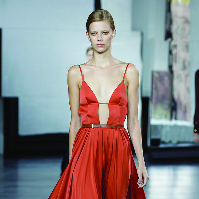 Jason Wu Proves the Slit Is It for S/S 15