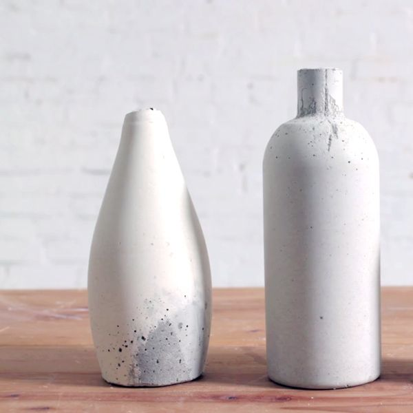 How to Make Your Own Concrete Vase