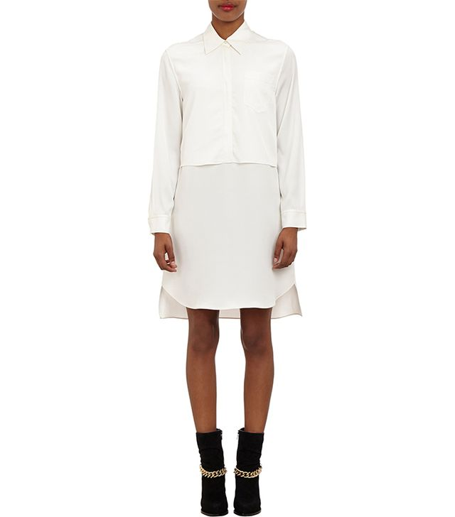 3.1 Phillip Lim Layered Silk Shirtdress