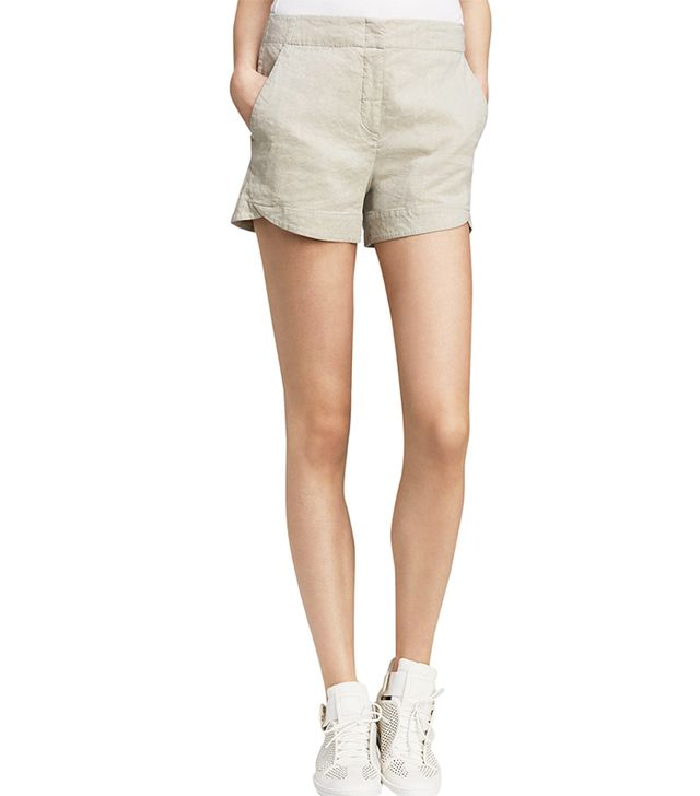 Theory Kaelin Crunch Shorts