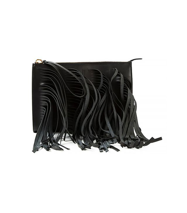 Marni Fringed Shoulder Bag
