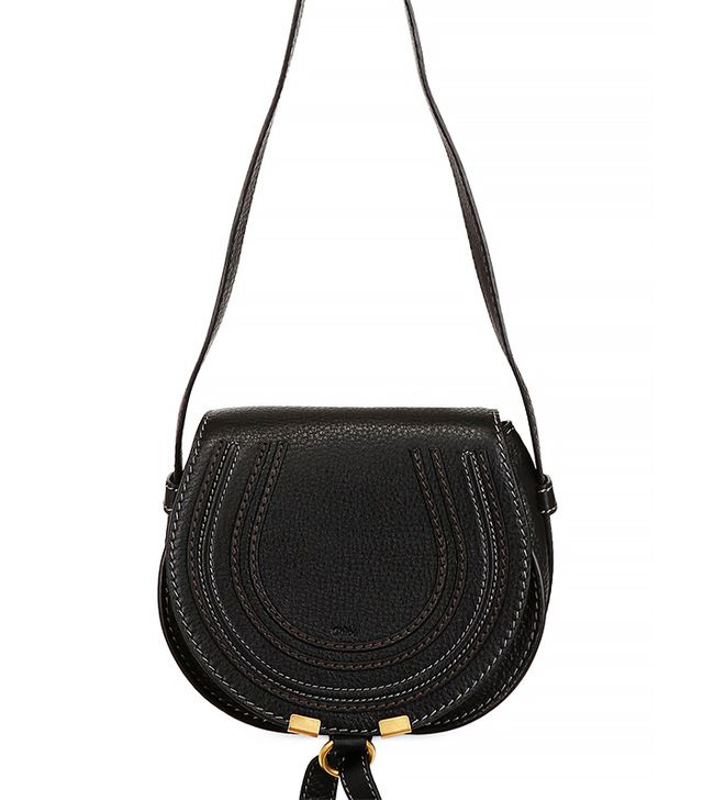 Chloé Small Marcie Leather Crossbody Bag