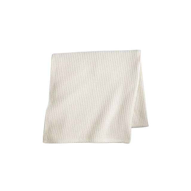 Peacock Alley Riviera Waffle Cotton Blanket