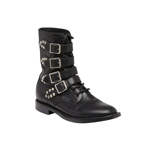 Ranger Studded Motorcycle Boots