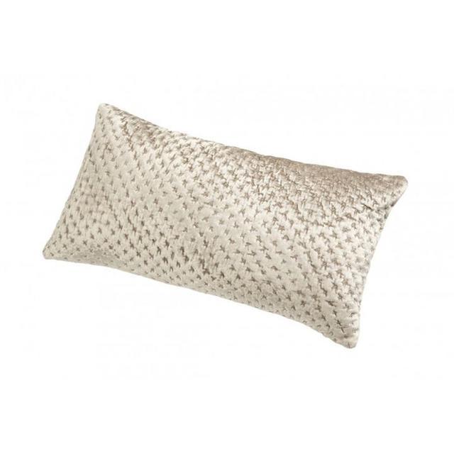 Kelly Hoppen Cross Stitch Velvet Cushion