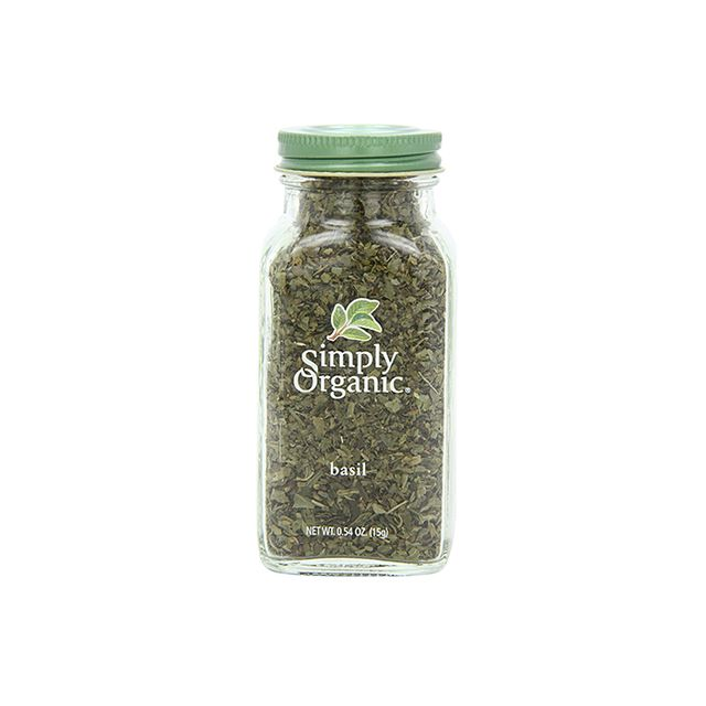 Simply Organic Certified Organic Basil, 0.54 Oz.