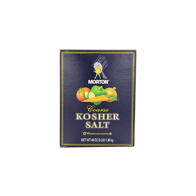 Morton Kosher Salt, 48 Oz.
