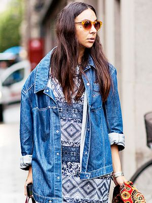Tip of the Day: The Cool Way to Style Your Denim Jacket