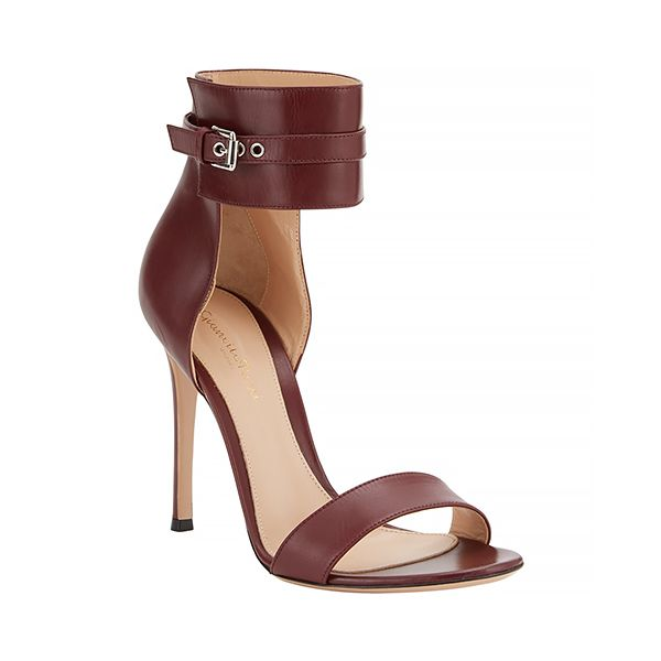 Gianvito Rossi Buckle-Cuff Sandals