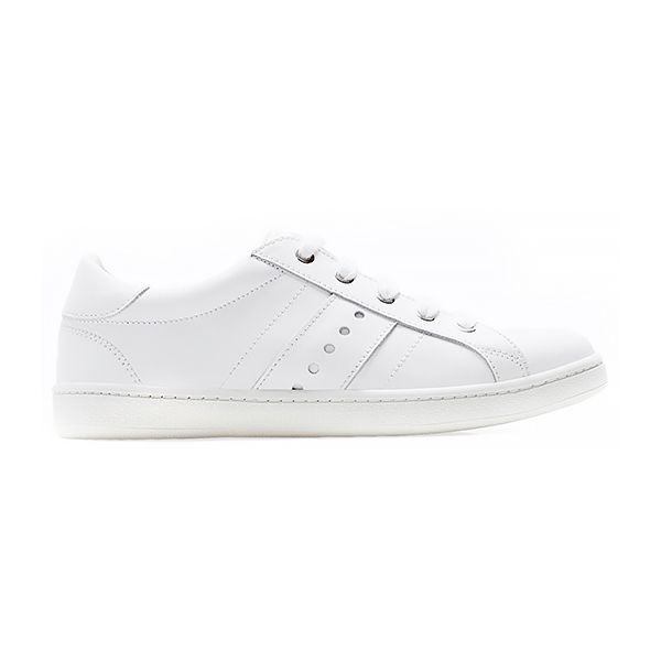 Zara Perforated Leather Sneakers