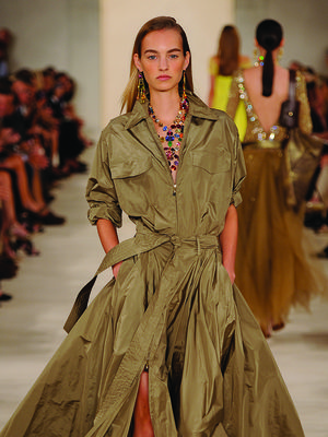 Ralph Lauren Went Glamping for S/S 15