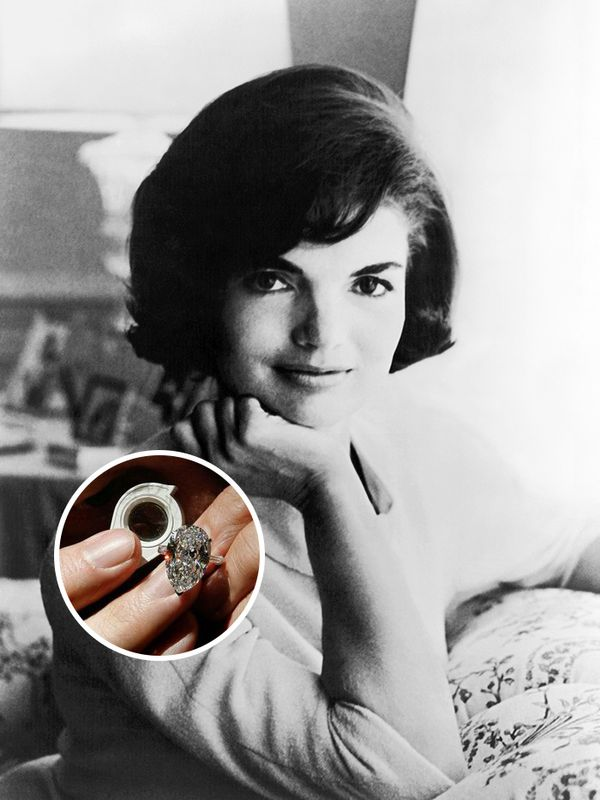 Celebrity engagement rings: Jackie Kennedy