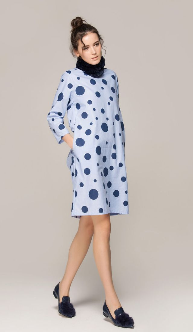 Front Row Shop Dress With Dots