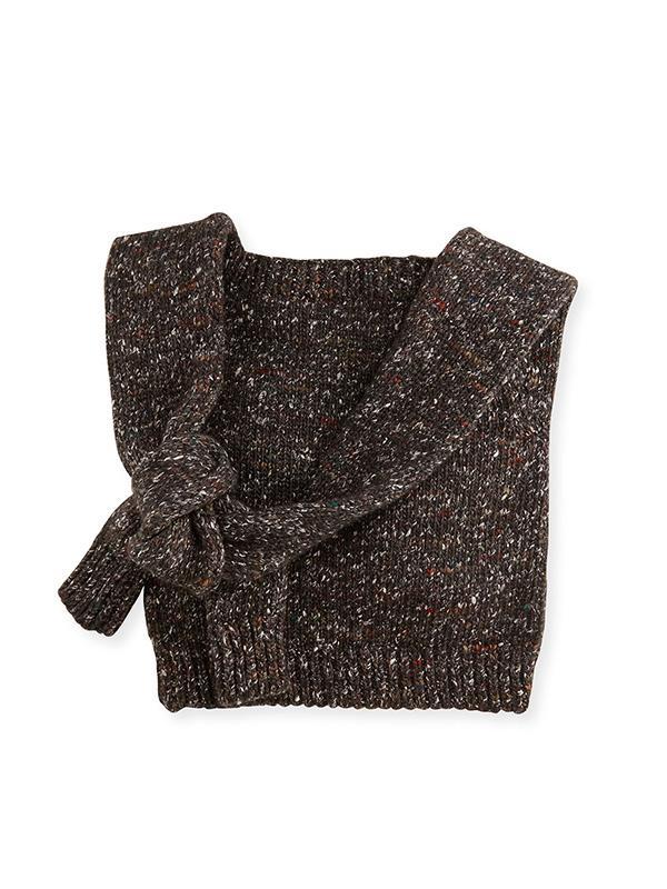 Stella McCartney Chunky Knit Crossbody Bag