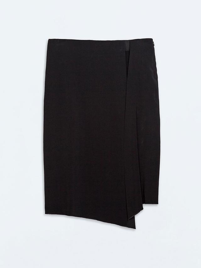 Zara Asymmetrical Sarong Skirt