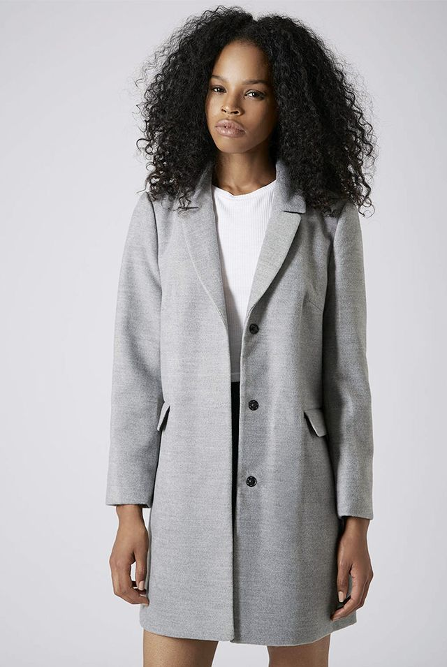 Topshop Slim Pocket Detail Coat