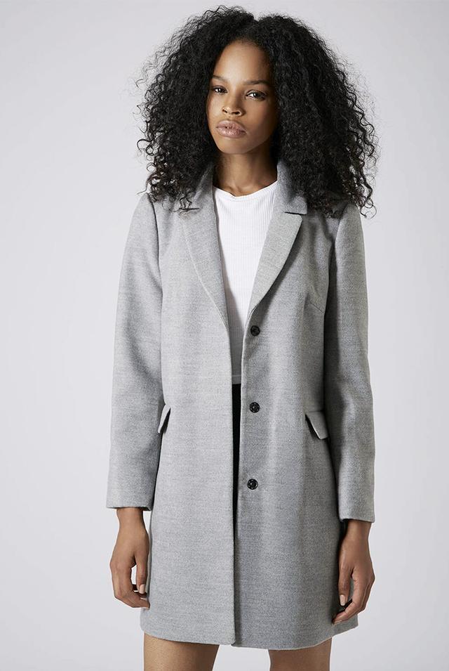 Topshop Slim Pocket Detail Coat