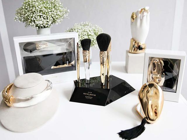 Would You Buy Swarovski-Embellished Makeup Brushes?