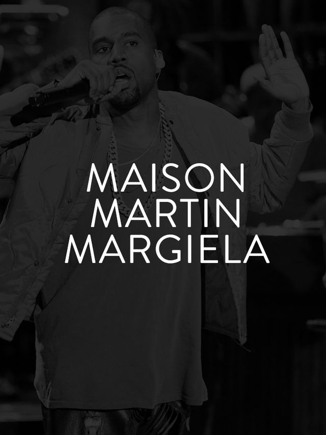 Maison Martin Margiela's known for putting an avant-garde twist on classic, conventional pieces. No wonder Kanye West, the innovative musician often dubbed hip-hop's enfant terrible,...