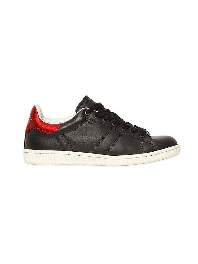 Isabel Marant Etoile Bart Leather Sneakers