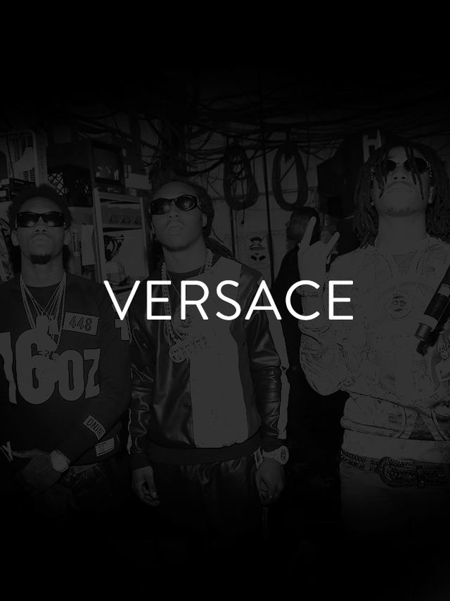 "You wouldn't be the only person who got ""Versace, Versace, Versace"" permanently stuck in her head after hearing Migos' track, aptly titled ""Versace."" The..."