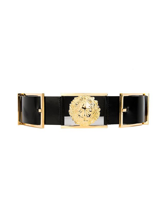 Anthony Vaccarello X Versus Versace Iconic Leather Belt