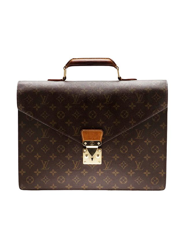 Louis Vuitton Vintage Monogram Serviette Briefcase