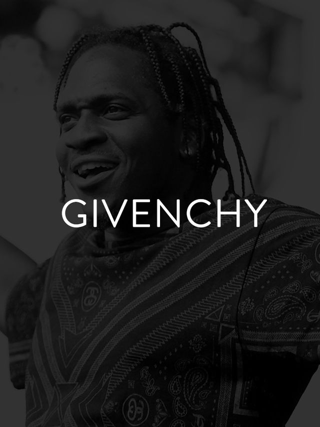 "Luxury French clothing brand Givenchy gets a shout-out in plenty of hip-hop tracks, but in Pusha T's ""Numbers On The Boards,"" designer Riccardo Tisci's penchant for..."