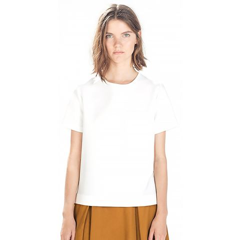 Top with Pocket and Asymmetrical Hem