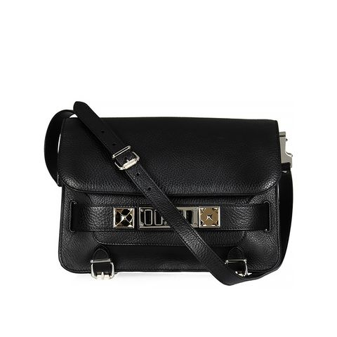 The PS11 Classic Leather Shoulder Bag