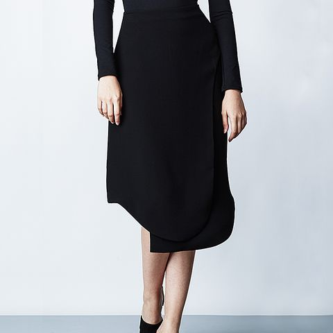 Theroux Keyhole Pencil Skirt