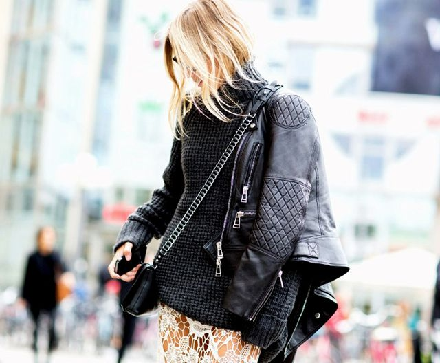 17 Reasons to Finally Invest in a Leather Jacket This Fall