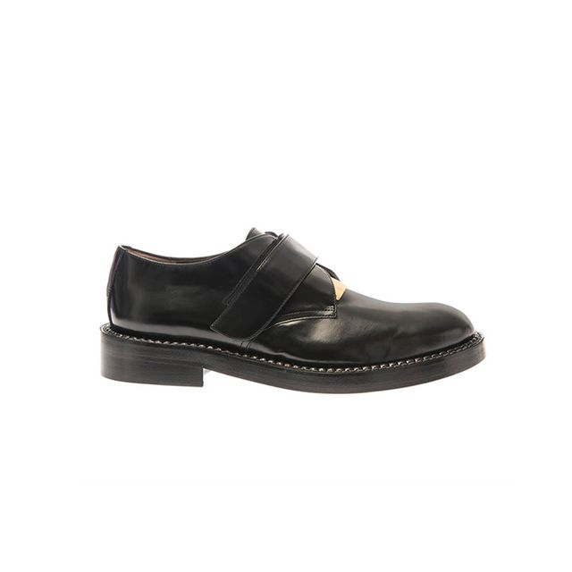 Marni Metal-Plate Leather Loafer