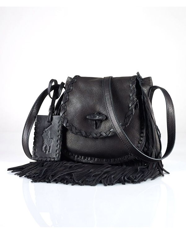 Polo Ralph Lauren Small Fringed Cross-Body Bag