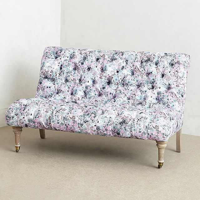 Anthropologie Abstract Print Orianna Settee
