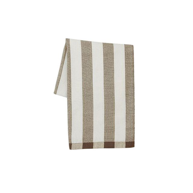 Steven Alan Alpaca Stripe Throw