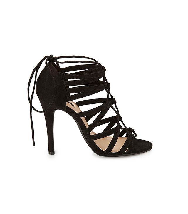 Forever 21 Strappy Suede Sandals