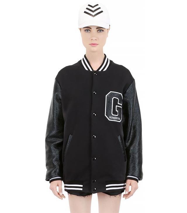 Gaelle Bonheur Heavy Cotton Jersey Jacket