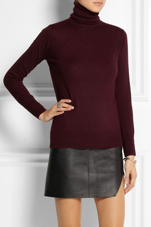 DKNY Knitted Turtleneck Sweater