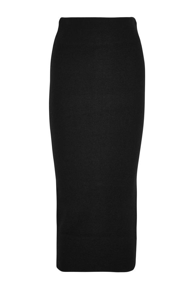 Acne Studios Donna boiled Merino Wool Midi Skirt