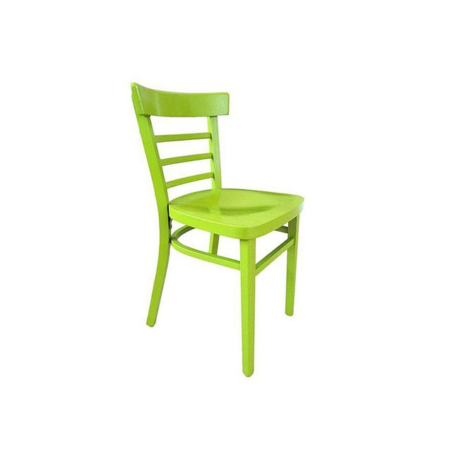 Chairish Vintage Cafe Chair in Green