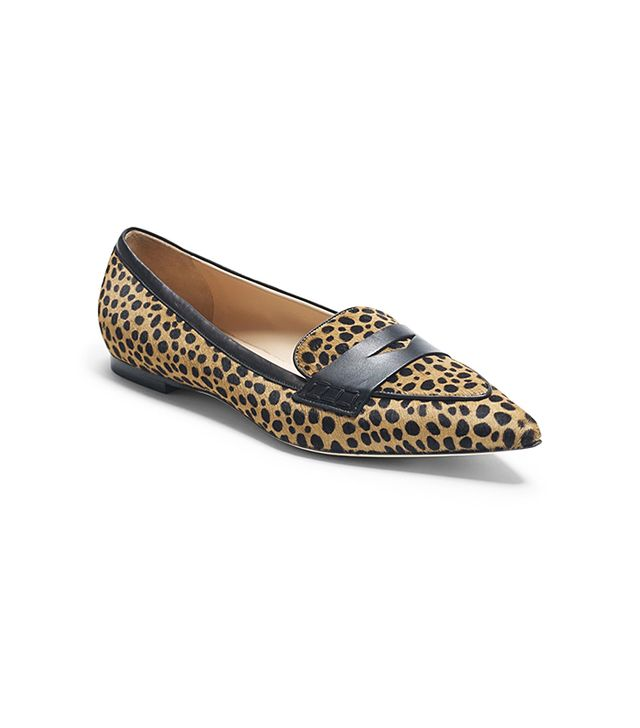 Club Monaco Sophie Leopard Loafers