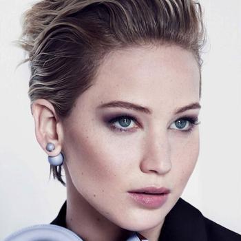 Jennifer Lawrence For Miss Dior F/W 2014