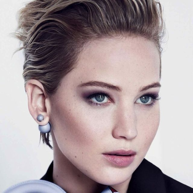 Jennifer Lawrence For Miss Dior F/W 2014